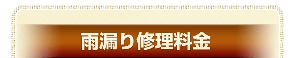 雨漏り修理料金 大阪寝屋川店